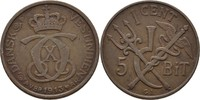 1 Cent (5 Bit) 1913 VGP Dänisch Westindien Christian X., 1912-47 ss, kl... 50,00 EUR  zzgl. 3,00 EUR Versand