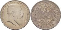 5 Mark 1904 Baden Karlsruhe Friedrich I. 1856-1907 kl. Randschläge, ss  40,00 EUR  zzgl. 3,00 EUR Versand