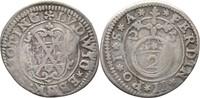 2 Kreuzer 1625 Öttingen Oettingen Ludwig Eberhard, 1622-1634 Bug, ss  30,00 EUR  zzgl. 3,00 EUR Versand