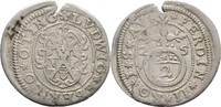 2 Kreuzer 1625 Öttingen Oettingen Ludwig Eberhard, 1622-1634 Randfehler... 30,00 EUR  zzgl. 3,00 EUR Versand