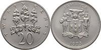 20 Cents 1973 Jamaika FAO - Forstwirtschaft Hoher Eibisch prägefrisch  7,00 EUR  zzgl. 3,00 EUR Versand