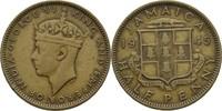 1/2 Penny 1945 Jamaika George VI., 1936-52 ss  5,00 EUR  zzgl. 3,00 EUR Versand