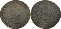 Rechenpfennig Jeton 1655 Belgien Brabant Brüssel Philipp IV., 1621-1665... 60,00 EUR  plus 3,00 EUR verzending