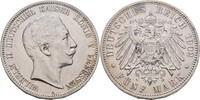 5 Mark 1902 Preussen Wilhelm II., 1888-1918. winzige Kratzer, vz  50,00 EUR  zzgl. 3,00 EUR Versand