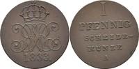Pfennig 1833 Hannover Wilhelm IV., 1830-1837 vz  75,00 EUR  zzgl. 3,00 EUR Versand