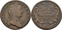 Kreuzer 1763 RDR Steiermark Graz Maria Theresia, 1740-1780 ss  25,00 EUR  zzgl. 3,00 EUR Versand