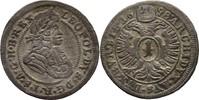 Kreuzer 1698 RDR Schlesien Oppeln Leopold I., 1657-1705 ss  25,00 EUR  zzgl. 3,00 EUR Versand