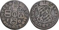 Liard 1750 Lüttich, Bistum Johann Theodor von Bayern, 1744-1763 ss  11,00 EUR  zzgl. 3,00 EUR Versand