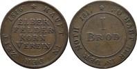 Kupfermarke Token 1816-1817 Elberfeld  ss  14,00 EUR  zzgl. 3,00 EUR Versand