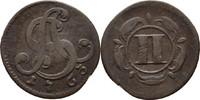 2 Pfennige 1763 Lippe Detmold Simon August, 1734-1782 ss  15,00 EUR  zzgl. 3,00 EUR Versand