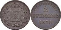 2 Pfennig 1870 Bayern Ludwig II., 1864-86 ss  7,00 EUR  zzgl. 3,00 EUR Versand