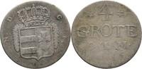 4 Grote 1816 Oldenburg Peter Friedrich Wilhelm, 1785-1823 ss/fss  40,00 EUR  zzgl. 3,00 EUR Versand