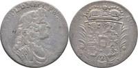 2/3 Taler 1688 Mecklenburg Güstrow Gustav Adolph, 1636-1695. f.ss  110,00 EUR  zzgl. 3,00 EUR Versand