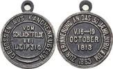 Eisengußmedaille 1863 Sachsen Befreiungskriege / Napoleon ss  45,00 EUR  zzgl. 3,00 EUR Versand
