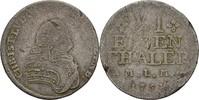1/6 Taler 1754 Mecklenburg Schwerin Christian Ludwig II. 1747-1756. f.ss  15,00 EUR  zzgl. 3,00 EUR Versand