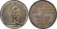 Medaille 1797 Sachsen Dresden Friedrich August III./I., 1763-1827 Kratz... 120,00 EUR  zzgl. 3,00 EUR Versand