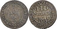 4 Mark 1754 Aachen  ss  40,00 EUR  zzgl. 3,00 EUR Versand