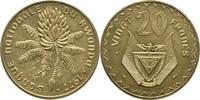 20 Francs 1977 Ruanda Essay - Probe Bananenstaude Stempelglanz  50,00 EUR  plus 3,00 EUR verzending