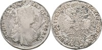 1/2 Taler 1765 RDR Tirol Hall Maria Theresia, 1740-1780 fleckig, f.ss/ss  100,00 EUR  plus 3,00 EUR verzending