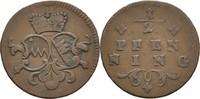 1/2 Pfennig 1779-1795 Bistum Würzburg Franz Ludwig von Erthal, 1779-179... 15,00 EUR  zzgl. 3,00 EUR Versand