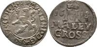 Maly Groschen 1618 RDR Böhmen Kuttenberg Matthias I./II., 1612-1618 ss  85,00 EUR  zzgl. 3,00 EUR Versand