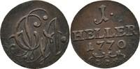 Heller 1770 Sachsen Gotha Altenburg Friedrich III. 1732-1772 ss  27,00 EUR  zzgl. 3,00 EUR Versand