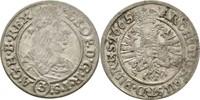 3 Kreuzer 1665 RDR Habsburg Schlesien Breslau Leopold I., 1657-1705. ss  40,00 EUR  zzgl. 3,00 EUR Versand