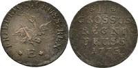 2 Gröscher 1773 Preussen Königsberg Friedrich II., 1740-1786 ss  20,00 EUR  zzgl. 3,00 EUR Versand