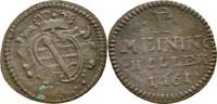 Heller 1761 Sachsen Meiningen Anton Ulrich, 1746-1763 ss  17,00 EUR  zzgl. 3,00 EUR Versand