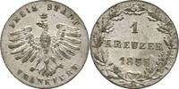 Kreuzer 1855 Frankfurt  f.prfr.  15,00 EUR  zzgl. 3,00 EUR Versand