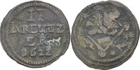 2 Kipper kreuzer 1622 Nürnberg  ss  60,00 EUR  zzgl. 3,00 EUR Versand