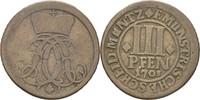 3 Pfennige 1703 Bistum Münster Friedrich Christian v. Plettenberg (1688... 15,00 EUR  zzgl. 3,00 EUR Versand