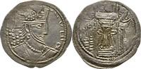 Drachme 356-410? INDIA, Kushano-Sasanian. Vahran Kushanshah, 356-410 ? vz  375,00 EUR kostenloser Versand
