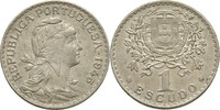 1 Escudo 1945 Portugal  fast prägefrisch  30,00 EUR  zzgl. 3,00 EUR Versand
