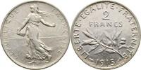 2 Francs 1915 Frankreich Säerin fast Stempelglanz  25,00 EUR  zzgl. 3,00 EUR Versand