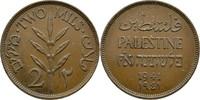 2 Mils 1941 Palästina  ss  10,00 EUR  zzgl. 3,00 EUR Versand