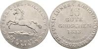 16 Gute Groschen 1833 Hannover Wilhelm IV., 1830-1837 kl. Kratzer, f.vz  55,00 EUR  zzgl. 3,00 EUR Versand