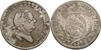 Taler 1794 Bayern Mannheim Karl Theodor, 1742-1799 ss  220,00 EUR kostenloser Versand