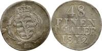 1/48 Taler 1812 Sachsen Friedrich August III./I., 1763-1827 Bug am Rand... 15,00 EUR  zzgl. 3,00 EUR Versand