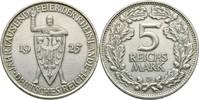5 Reichsmark 1925 Deutsches Reich  kl. Kratzer, ss+  70,00 EUR  zzgl. 3,00 EUR Versand