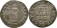 4 Mariengroschen 1667 Braunschweig Calenberg Hannover Johann Friedrich,... 20,00 EUR  zzgl. 3,00 EUR Versand