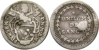 Grosso 1785 Vatikan Rom Pius VI. 1775-1799 Druckstelle, ss  20,00 EUR  zzgl. 3,00 EUR Versand