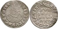1/16 Taler 1652 Schleswig Holstein Gottorp Friedrich III., 1616-1659. B... 38,00 EUR  zzgl. 3,00 EUR Versand