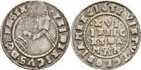 1/16 Taler 1652 Schleswig Holstein Gottorp Friedrich III., 1616-1659. ss  50,00 EUR  zzgl. 3,00 EUR Versand