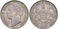 Vereinstaler 1859 Württemberg Wilhelm I., 1816-1864 schöne Tönung, vz  125,00 EUR  zzgl. 3,00 EUR Versand