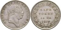 1 Shilling 6 Pence Banktoken 1812 Großbritannien George III., 1760-1820... 110,00 EUR  zzgl. 3,00 EUR Versand