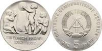 5 Mark 1982 DDR Berlin Friedrich Fröbel Kontaktmarken, prfr  20,00 EUR  zzgl. 3,00 EUR Versand