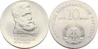 10 Mark 1979 DDR Berlin 175. Geburtstag Ludwig Feuerbach Kontaktmarken,... 65,00 EUR  zzgl. 3,00 EUR Versand