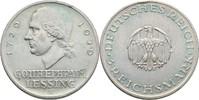 3 Reichsmark 1929 A Deutsches Reich Gotthold Ephraim Lessing kl. Randsc... 48,00 EUR  zzgl. 3,00 EUR Versand