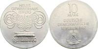 10 Mark 1982 DDR Berlin Eröffnung Neues Gewandhaus Leipzig prfr  25,00 EUR  zzgl. 3,00 EUR Versand